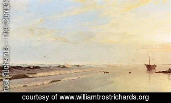 William Trost Richards - On the Shore