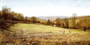 William Trost Richards - Chester County Landscape