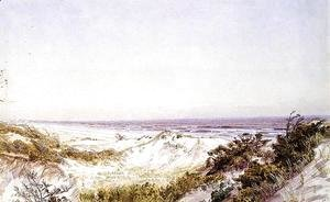 William Trost Richards - Atlantic City - Beach Dunes and Grass