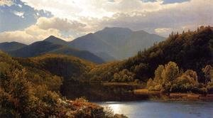 William Trost Richards - View in the White Mountains