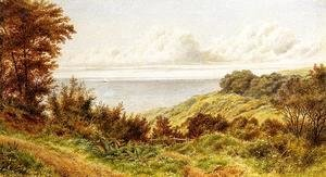 William Trost Richards - Overlooking the Coast