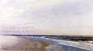 William Trost Richards - Abescon Light, Atlantic City, NJ