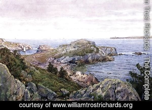 William Trost Richards - Conanicut, Rhode Island