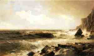 William Trost Richards - New England Seascape
