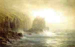 William Trost Richards - Seascape IV