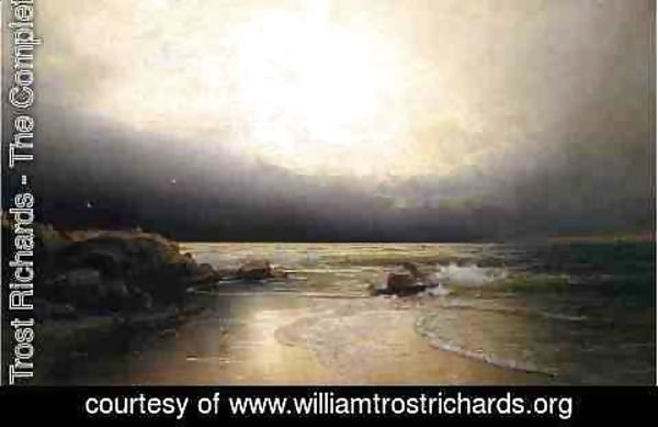 William Trost Richards - Lands End - New Jersey Coast