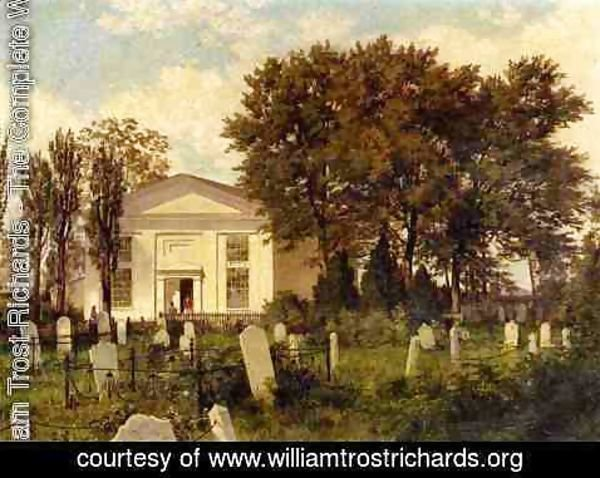 William Trost Richards - The Roxborough Baptist Church