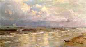 William Trost Richards - Seascape V
