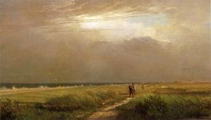 William Trost Richards - Men on the Shore