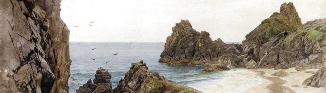 William Trost Richards - English Coastline