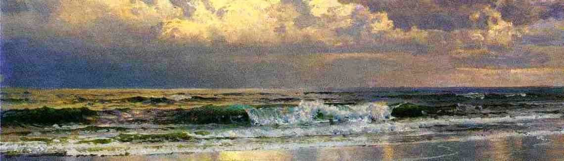 William Trost Richards - Beach at Atlantic City