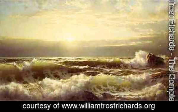 William Trost Richards - Off Conanicut, Newport