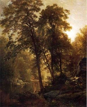 William Trost Richards - On the Wissahickon
