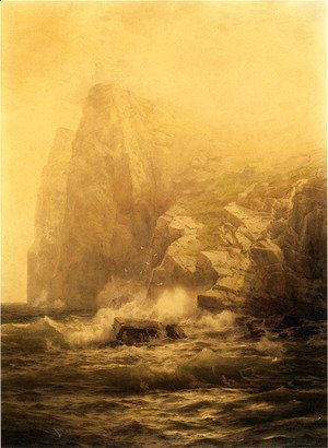 William Trost Richards - Rocky Coast