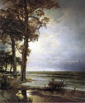 William Trost Richards - Near Atlantic City, New Jersey