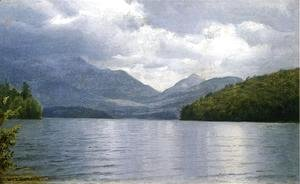 William Trost Richards - Wilmington Notch, Lake Placid, New York