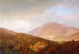 William Trost Richards - Autumn in the Adirondacks