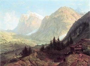 William Trost Richards - Alpine Landscape