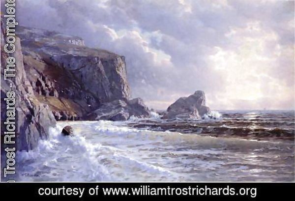 William Trost Richards - St. Margaret's Well, Cornwell