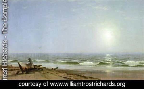 William Trost Richards - Sunlight on the Shore