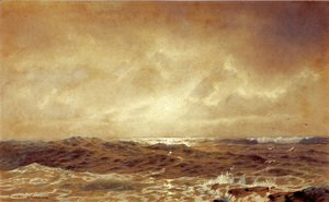 William Trost Richards - Rocks and Sea