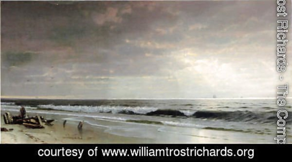 William Trost Richards - Along the Atlantic
