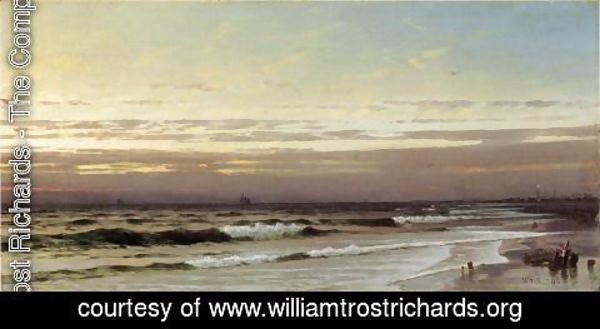 William Trost Richards - Along the Atlantic Coast