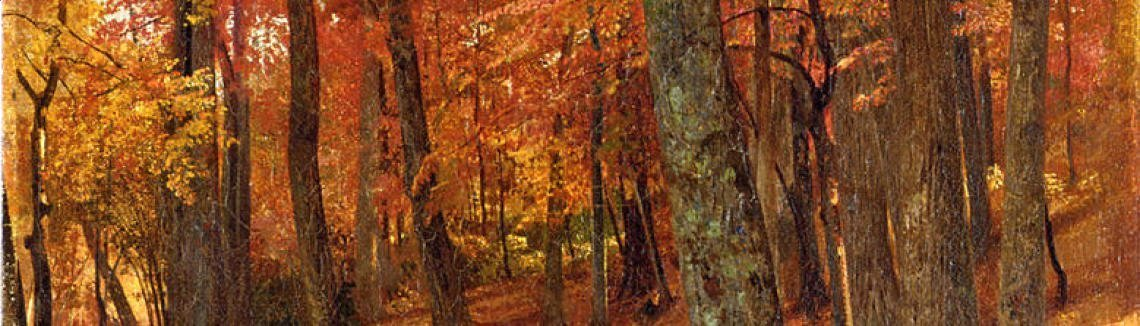 William Trost Richards - Forest Interior