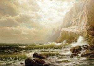 William Trost Richards - Cliffs of Dover