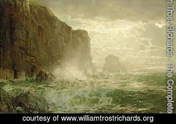 William Trost Richards - Grand Manan Island