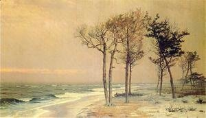 William Trost Richards - Coastal Landscape