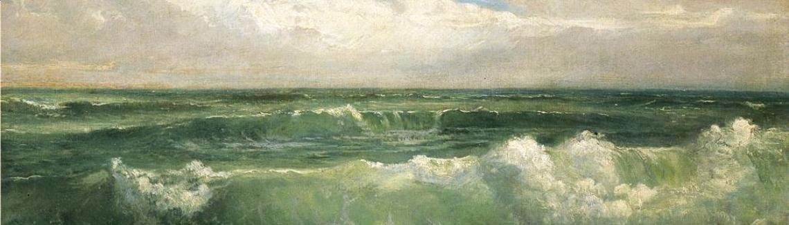 William Trost Richards - Breakers