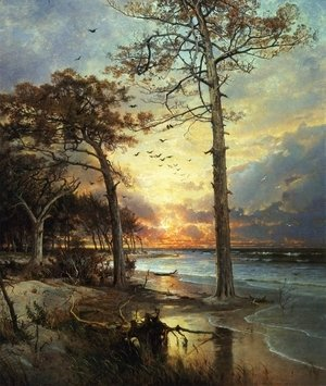 William Trost Richards - At Atlantic City