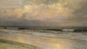 William Trost Richards - Brigantine Beach, New Jersey, No. 2