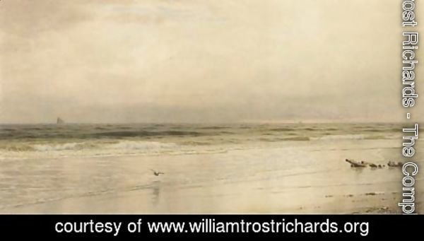 William Trost Richards - Low Tide on the Jersey Coast