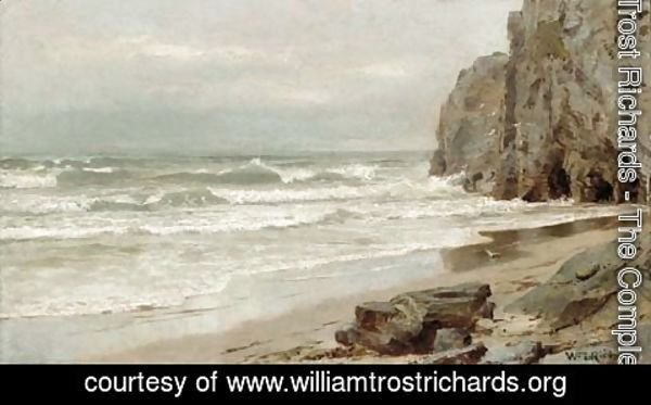 William Trost Richards - On the New England Coast