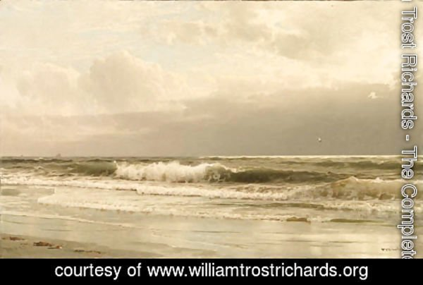 William Trost Richards - Rockaway Beach