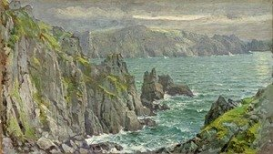 William Trost Richards - Rocky Coast 2