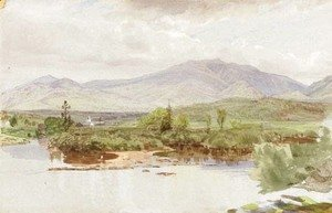 William Trost Richards - The Valley