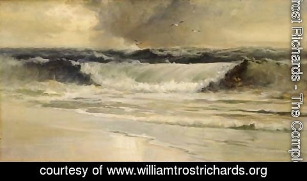 William Trost Richards - The Wave