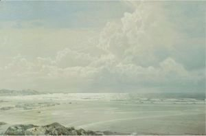 William Trost Richards - Coffins Beach, Cape Ann, Massachusetts