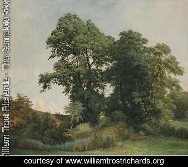 William Trost Richards - On The Brandywine