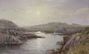 William Trost Richards - Price's Cove, Newport