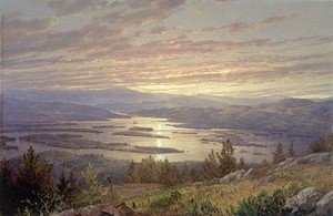 William Trost Richards - Lake Squam From Red Hill3