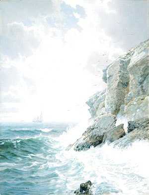 William Trost Richards - Purgatory Cliff