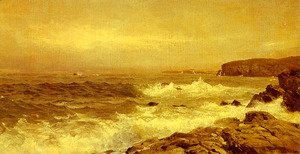 William Trost Richards - Rocky Sea Coast