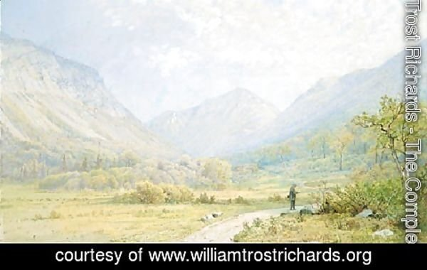 William Trost Richards - Franconia Notch  New Hampshire