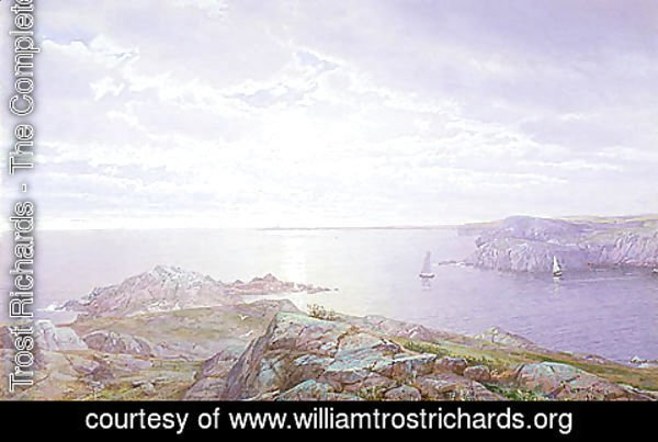 William Trost Richards - Rocky Cove